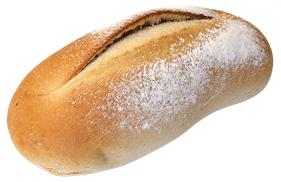 Een afbeelding van vers gebakken wit desembrood