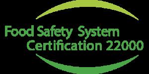 Het groene Food Safety System Certification 22000 Keurmerk